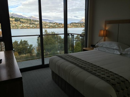 The Rees Hotel & Luxury Apartments: View from the bedroom