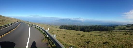 Paia, HI: Down from volcano top!
