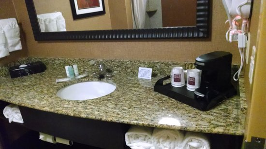 Comfort Suites At WestGate Mall: Bathroom