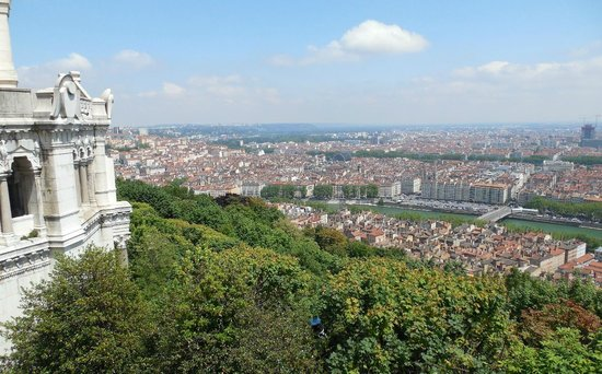 Fourviere Hill: View of Lyon from Basilique