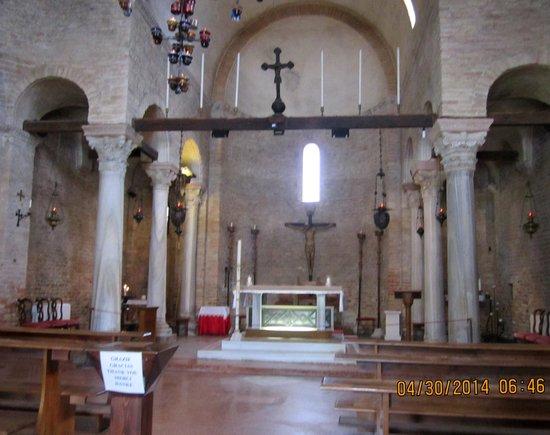 Isla de Torcello: Inside Santa Fosca