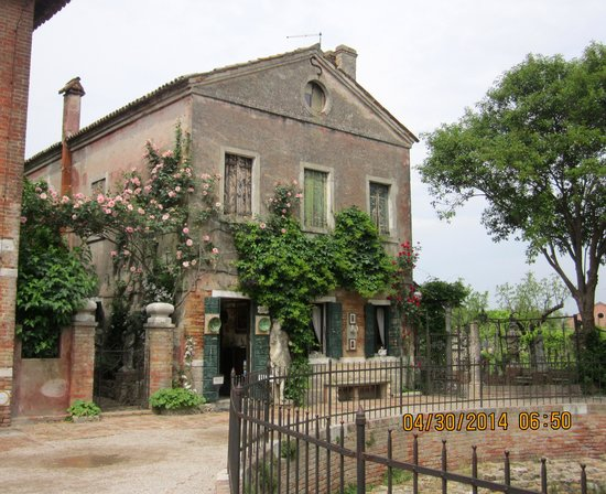 Isla de Torcello: The former palace now a museum