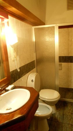 Hotel Italiano: Bathroom