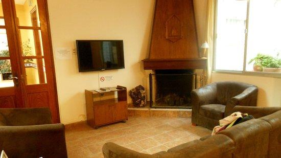 Hotel Italiano: Small reception
