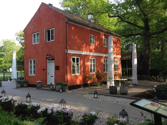 Den Rode Cottage: Front entrance