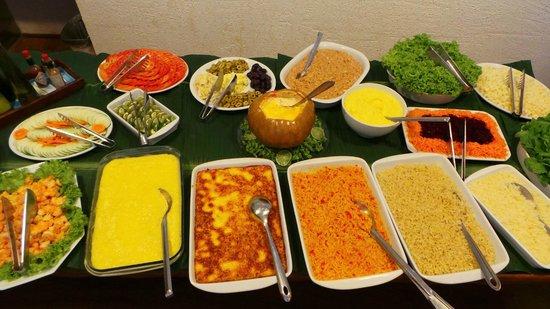 Pousada Do Vale: Jantar das quintas, este foi preparado por Adenilson e demais colaboradores da cozinha.