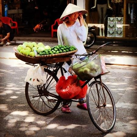 Calypso Grand Hotel: Hanoi street scene