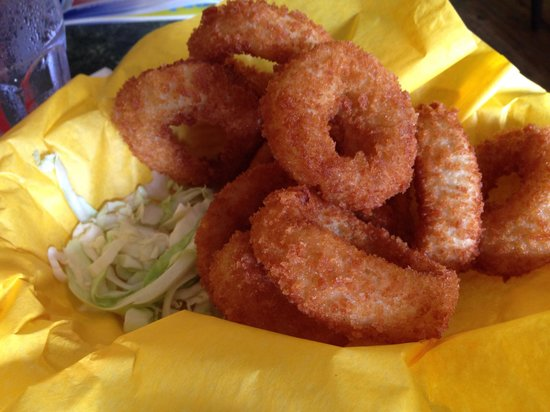 Tomkats Grille: Onion rings