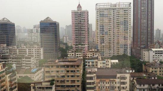 Gitic Riverside Hotel : View from window