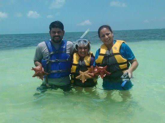 Ocean Spa Hotel: Con amigos de Costa Rica