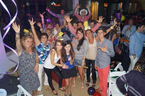 Hard Rock Hotel Vallarta : Recibiendo el AÑO NUEVO 2014