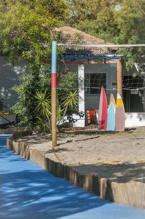 The Resort Hostel: Volley ball