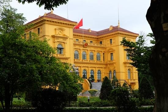 Ho Chi Minh Presidential Palace Historical Site: HCM gardens