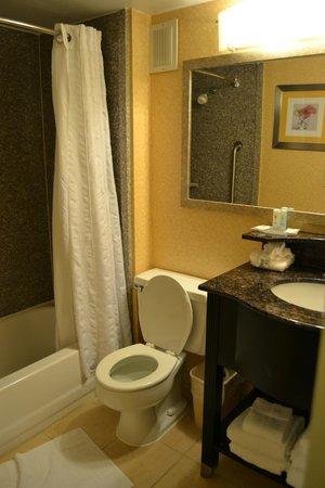 Quality Inn & Suites New York Avenue : Clean bathroom