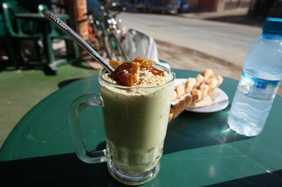 Villa Taghazout Bay - La Cle des Agadirs: The famous avocado smoothie in Aorir
