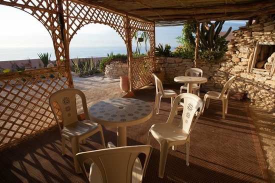 Villa Taghazout Bay - La Clé des Agadirs : Nice outside living room for the hot summer days