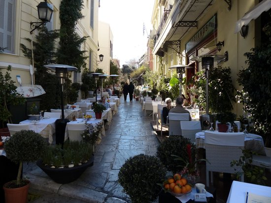 Plaka District: Restaurant