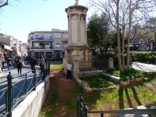 Plaka District: Monumento a Lysikrates