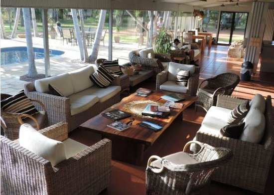 Davidson's Arnhemland Safari Lodge : Lounge