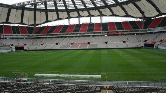Seoul World Cup Stadium: Inside the stadium