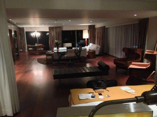 Hotel Fasano Rio de Janeiro: Suite com sacada com vista para o mar