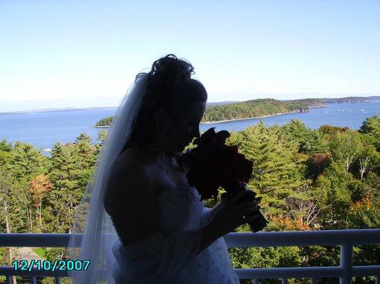 Bluenose Inn - A Bar Harbor Hotel: Wedding morning in Bar Harbor.