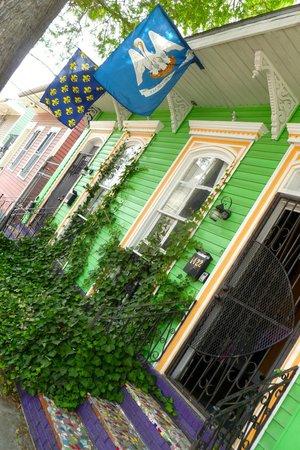 Vieux carré français de La Nouvelle-Orléans : colours