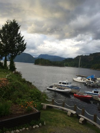 Backeddy Resort & Marina: Can't beat this view from the pub!