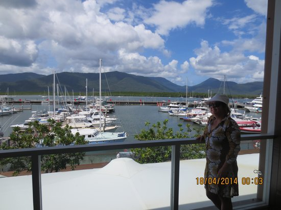 Shangri-La Hotel, The Marina, Cairns: visual perfeito!!!