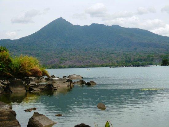 View of Mombacho volcano from Zopango Island