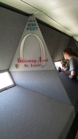 Gateway Arch: Inside the Arch