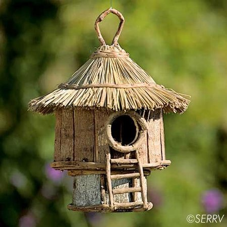 Kretyen LLC: Bird hut made in the Philippines