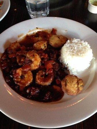 Crazy Water : Shrimp with chorizo