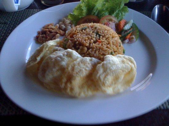 MesaStila Resort and Spa: Nasi Goreng for Breakfast