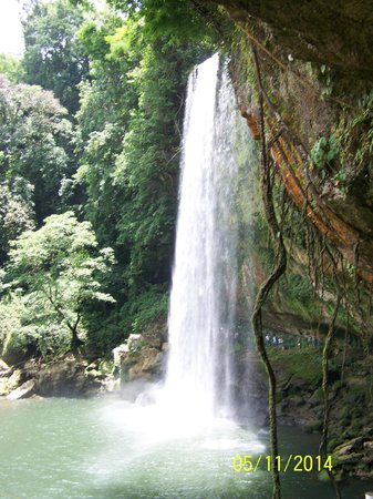 Cascadas de Misol-Ha: Misol Ha