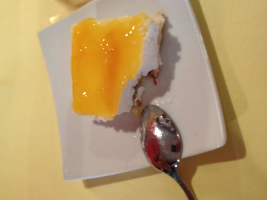 Restaurante La Tragantúa : Lemon cake