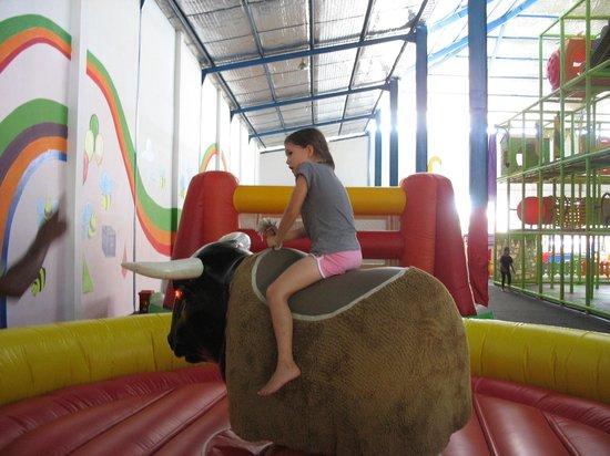 Bali Funworld: riding the bull