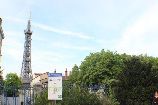 Fourviere Hill: Torre de metal de Fouvière, o ponto mais alto.