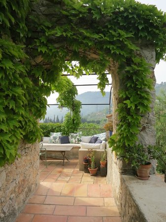 La Parare: View from our terrace