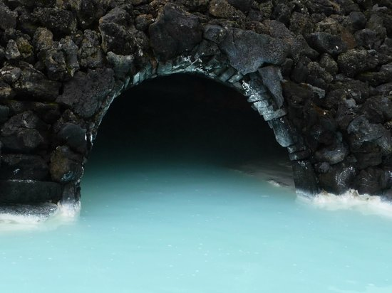 Blue Lagoon Iceland: Blue Lagoon, steam cave