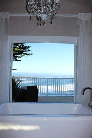 Agate Cove Inn Hotel: spectacular views