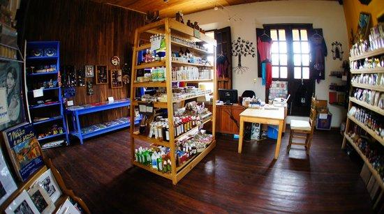 La Casa del Pan: 2nd floor organic store