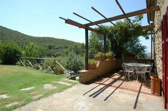 Azienda Fontelunga : casa fontelunga-  pergola