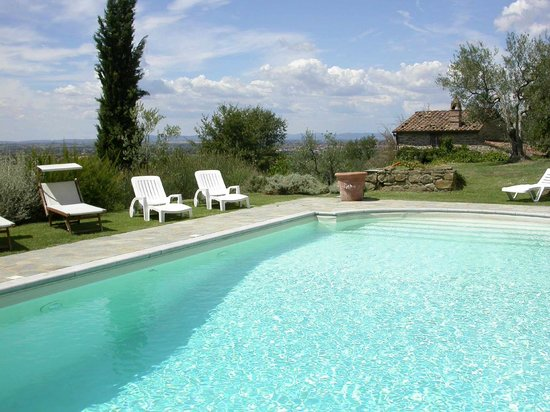 Azienda Fontelunga : Casa Fontelunga -  private swimming pool