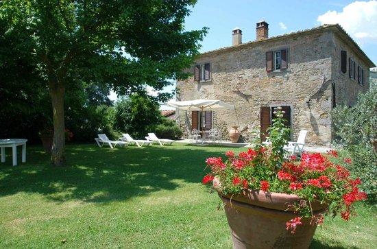 Azienda Fontelunga : Il Bozzino, private garden