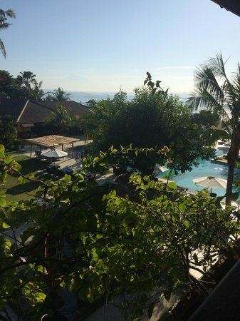 Peninsula Beach Resort Tanjung Benoa: view from room 433