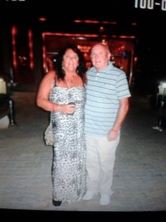 This photo was taken outside Falcon Naama Star hotel on the 29th April 2014.