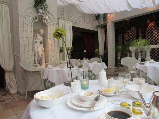 Die Swaene : Breakfast conservatory