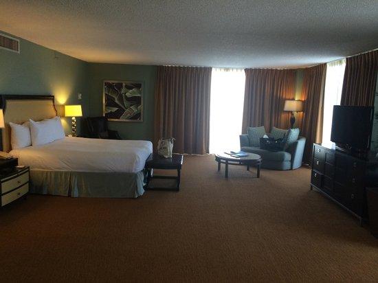 Hilton Miami Downtown: King bed