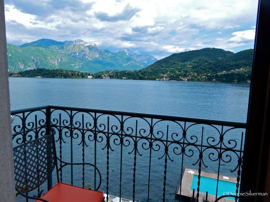 Grand Hotel Tremezzo: Balcony View